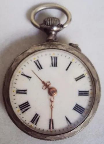 Relógio bolso antigo francês maquinário r