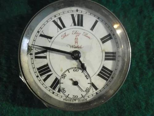 Relógio bolso big ben chavinha eixo balanço