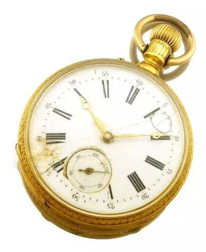 Relógio bolso pateck & cº geneve