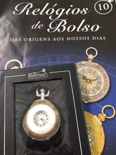 Relógio de bolso ed. 10 silver - planeta deagostini