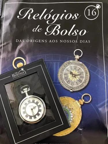 Relógio de bolso - ed. 16 vintage - planeta deagostini