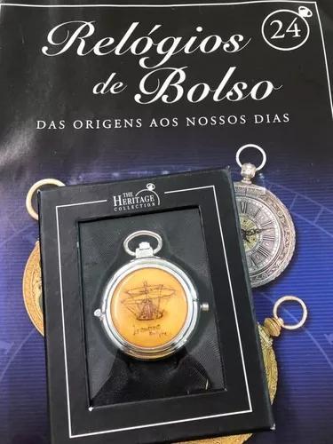 Relógio de bolso ed. 24 ingenio - planeta deagostini