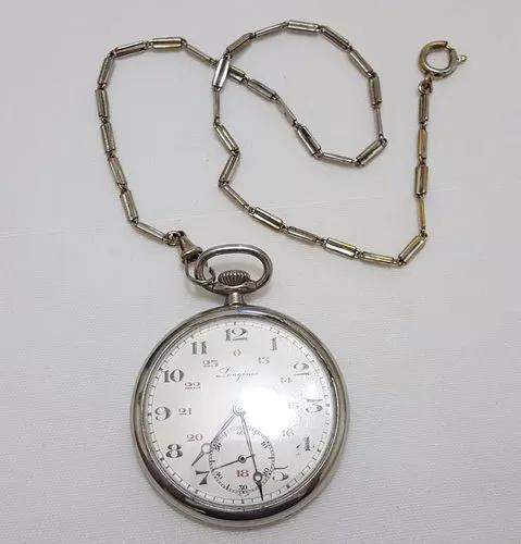 Relógio De Bolso Longines Swiss Made