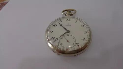 Relógio de bolso suiço marca ômega