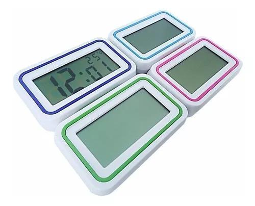 Relógio despertador digital alarme t