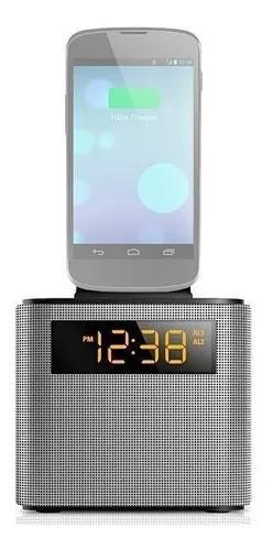 Relógio despertador philips bluetooth/usb - pronta entrega