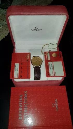 Relógio omega de ville ouro maçico, 18kl, super conservado