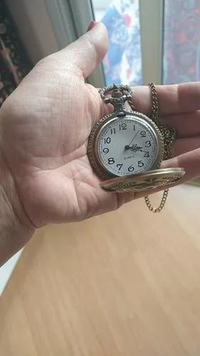 Relógio russo foice e martelo