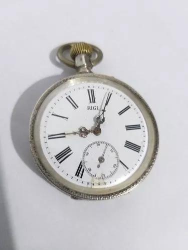 Relogio bolso prata macica coleção promocao r$ 499