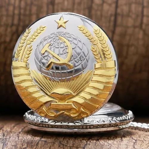 Relogio de bolso união sovietica - pronta entrega