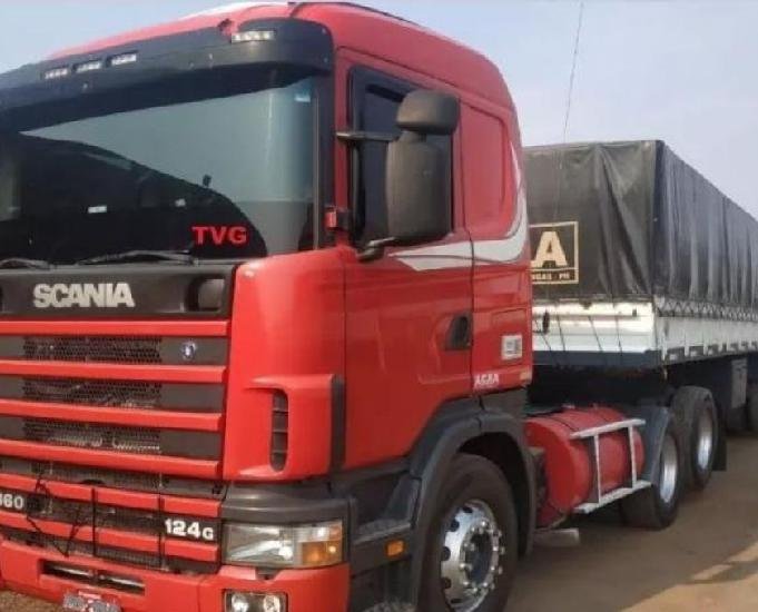 Scania r124 360 6x2 2004 na ls graneleiro 2006