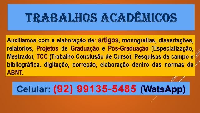 Serviços acadêmicos
