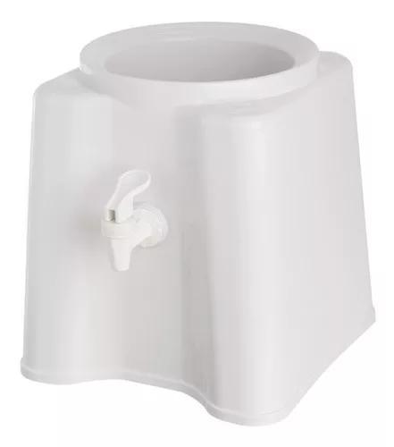 1 suporte branco para garrafão galão de água 10 e 20