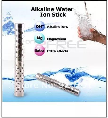 Bastão ionizador e alcalinizante de água - kit com 2 un.