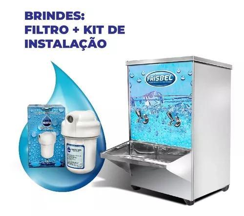 Bebedouro Industrial Inox 20 Litros Bancada Frete Grátis +