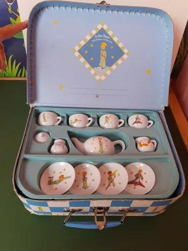 Brinquedo usado mini jogo de chá t