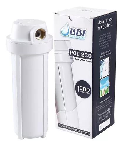 Filtro de agua para caixa d'água e cavalete poe 230