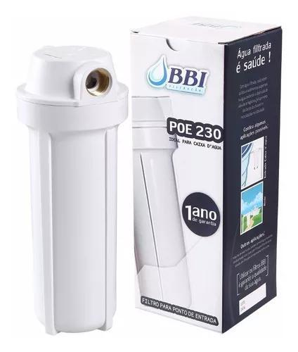 Filtro de agua para caixa d'água e entrada cavalete bbi poe