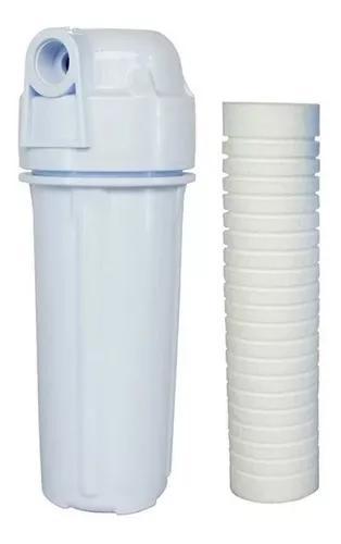 Filtro de agua para caixa d'água e entrada da residencia