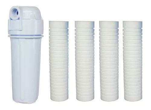 Filtro de água caixa água/ cavalete entrada/ com 4 refis