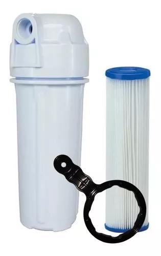 Filtro p/ caixa d'água entrada poe c/ refil lavável+brinde
