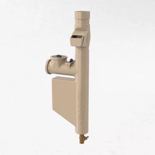 Filtro para coleta água da chuva bege *clorador incluso