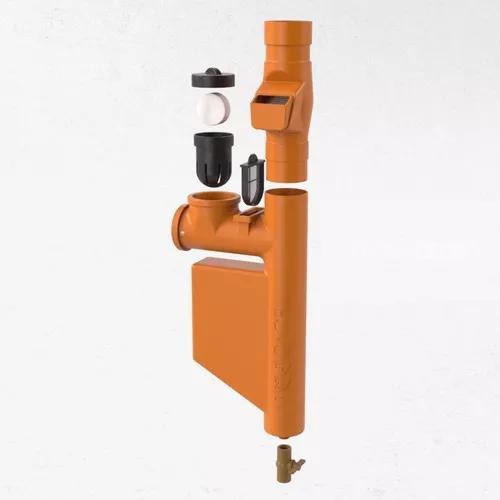 Filtro para coleta água da chuva laranja *clorador incluso
