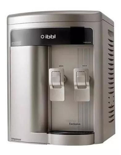 Purificador de água ibbl fr600 exclusive prata