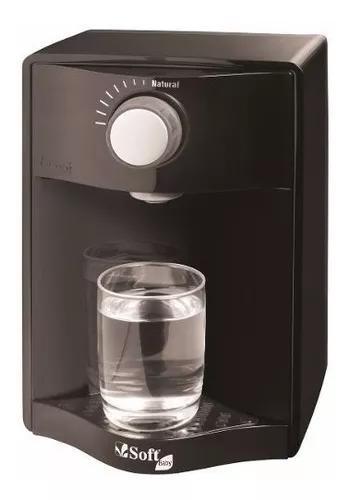 Purificador água soft baby preto
