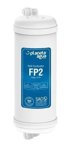 Refil filtro top life platinum compatível agua gelada