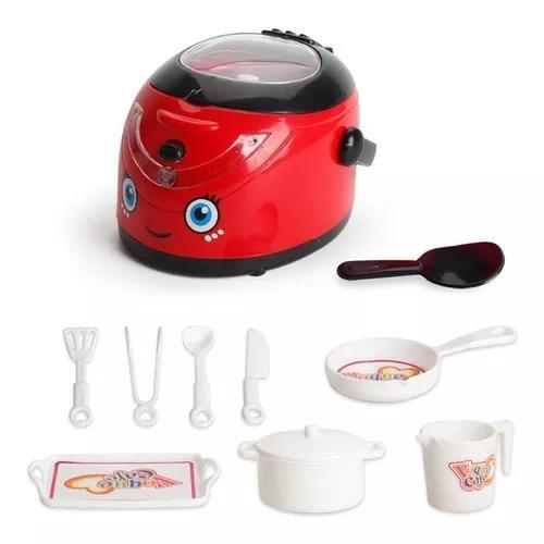 Simulação pequenos eletrodomésticos fogão de arroz