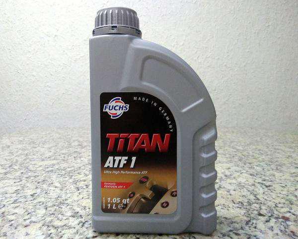 Leo para câmbio automático fuchs titan atf1 sintético =
