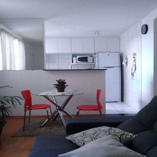 Apartamento, chácaras reunidas santa terezinha, 2 quartos,