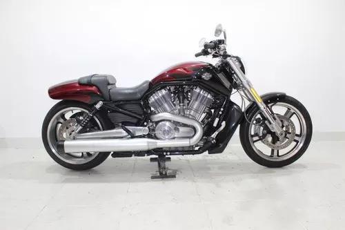 Harley davidson v rod muscle 2015 vermelha
