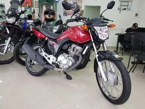 Honda cg 160 start 2017 vermelha 20000 km