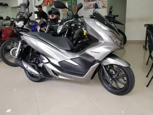 Honda pcx 150 2019 cinza 2100 km