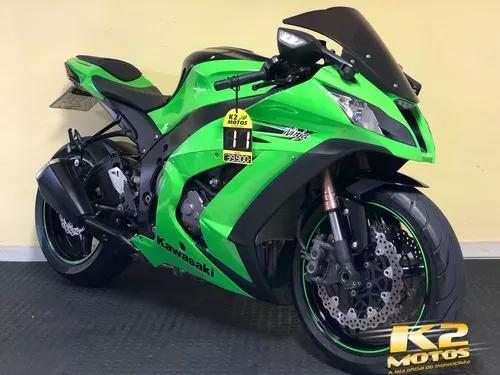 Kawasaki ninja zx10r (2011/2011) verde - 14.300 km