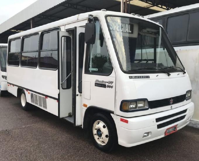 Micro ônibus marcopolo senior mb lo814 1999 r$ 32.000,00