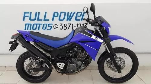 Yamaha xt 660r azul 2012