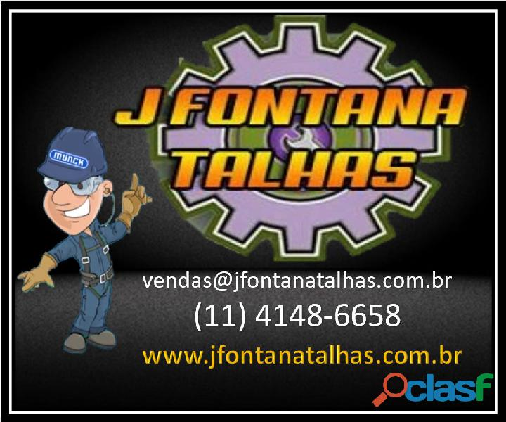 Distribuidora de peças e talhas MUNCK   J Fontana Talhas