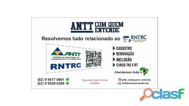 Serviços antt para todo brasil. pagamento após serviço feito