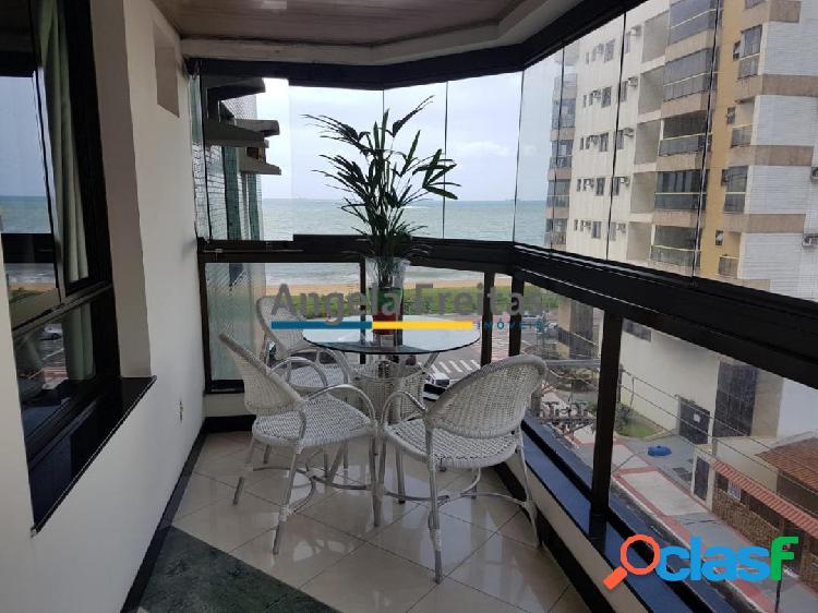 Apartamento 04 quartos/02 suítes com vista eterna mar na praia da costa