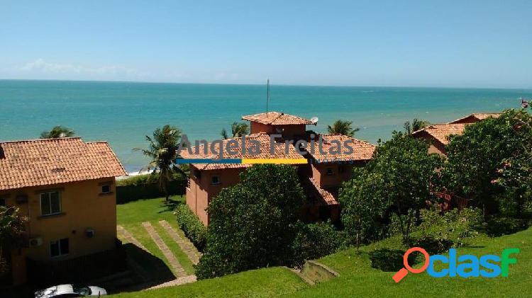 Casa maravilhosa em condomínio frente a praia de parati em anchieta