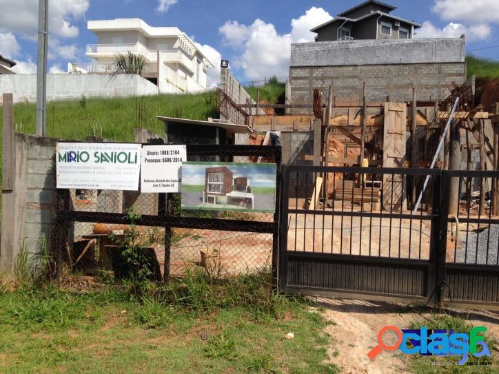 Terreno em condomínio (obras iniciadas) - reserva vale verde