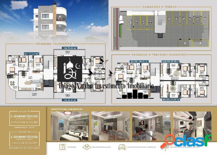 Vendo apartamento bairro universitário - cidade tijucas/sc - brasil