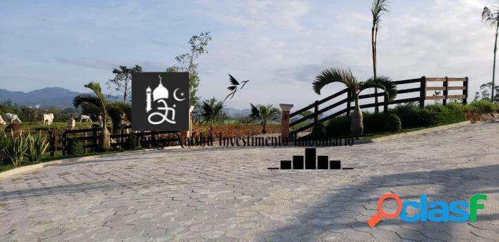 VENDO LOTES COND. RURAL BAIRRO PAPAGAIOS - CIDADE CANELINHA/SC - BRASIL 2