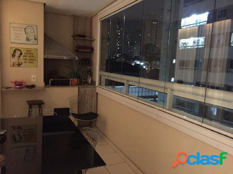 Apartamento com 90 m²/varanda gourmet à venda no tatuapé, são paulo.
