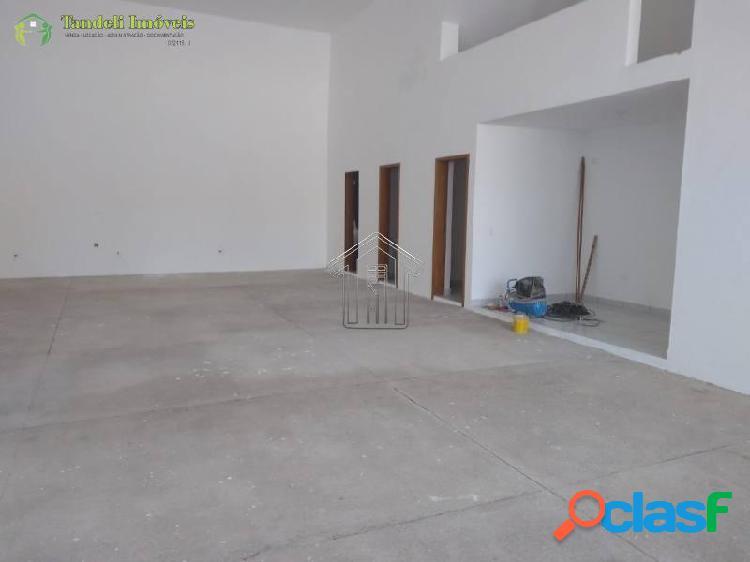 Salão comercial 180 m² - vila tibiriçá