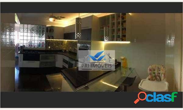 Apartamento à venda, 98 m² por r$ 478.000,00 - campo grande - santos/sp