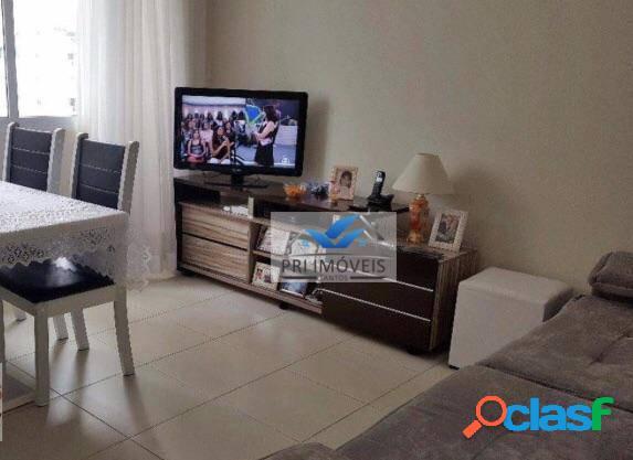 Apartamento à venda, 61 m² por r$ 265.000,00 - pompéia - santos/sp
